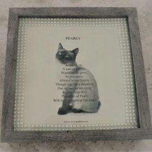 4x6 Framed ARISE AM Poem