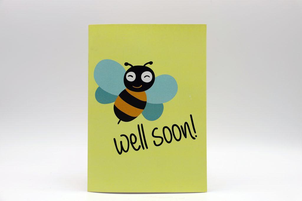 Bee Well Card