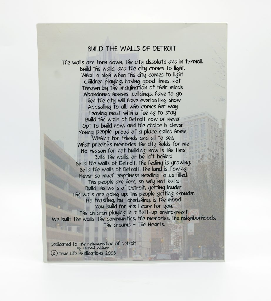 Build the Walls of Detroit